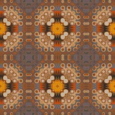 art vintage damask seamless pattern background Stock Photo - 17363241