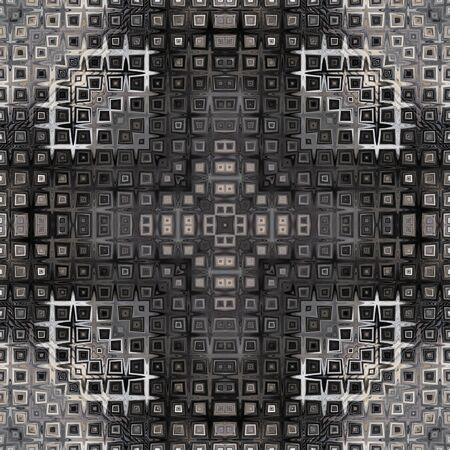 art vintage geometric ornamental pattern photo