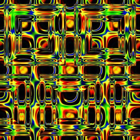 art glass geometric colorful background photo