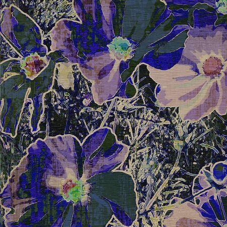 art grunge floral vintage background Stock Photo - 17371086