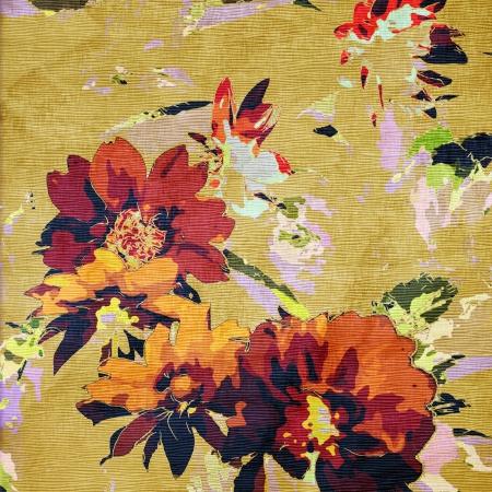 art grunge floral vintage background
