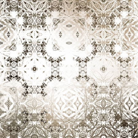 art vintage damask seamless pattern background
