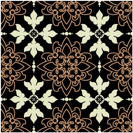 art vintage  seamless pattern background. Stock Photo - 17386975