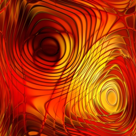 art abstract bright pattern background in red and gold Stock Photo - 17387072