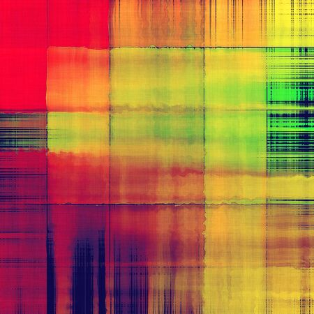 art abstract rainbow and golden pattern background Stock Photo - 17387435
