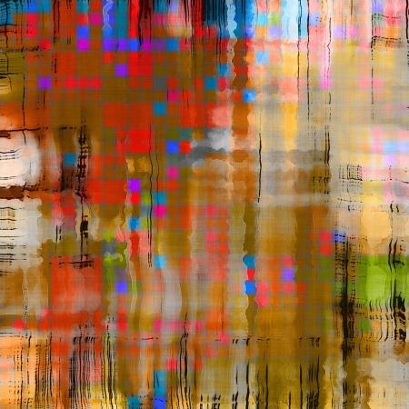 art abstract rainbow pattern background Stock Photo - 17387481