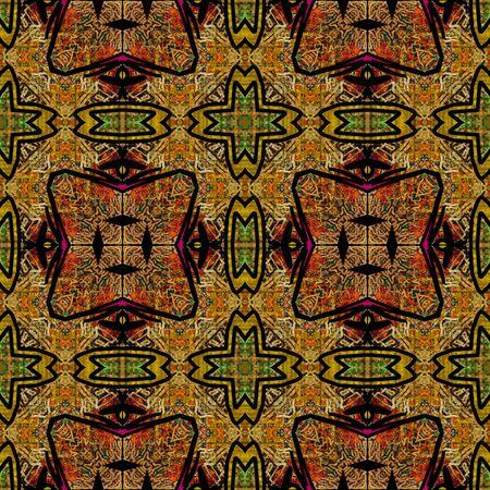 art eastern ornamental traditional pattern Stock Photo - 17387737