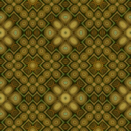 art eastern ornamental traditional pattern in green photo