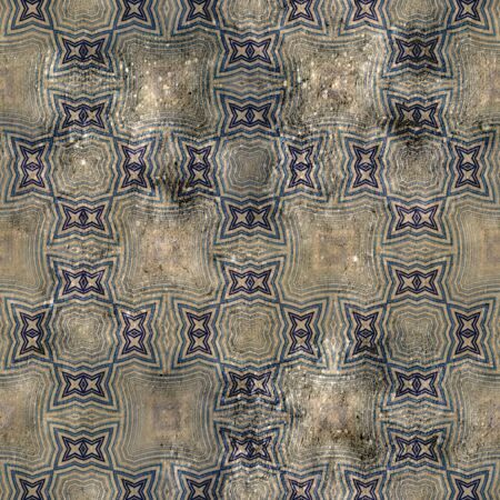 art vintage damask seamless pattern background  photo