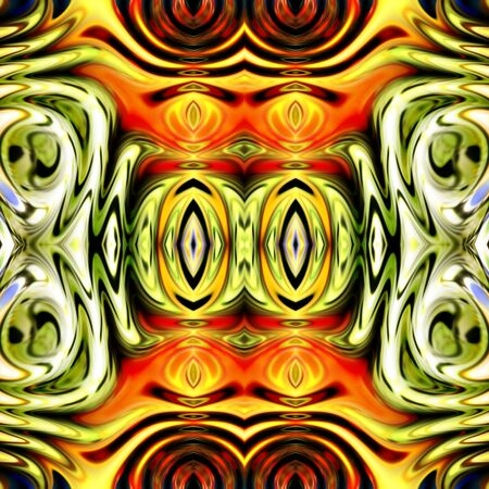art vintage glasses geometric golden ornamental pattern Stock Photo - 17387113