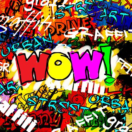 art urban graffiti raster background photo