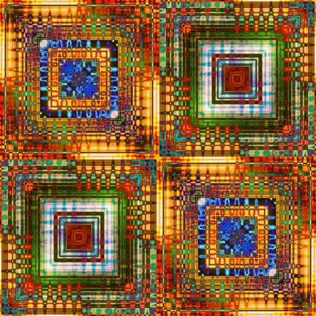 art eastern national traditional pattern Stock Photo - 17395427