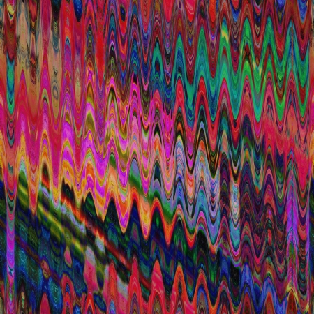 art abstract rainbow geometric seamless pattern background photo
