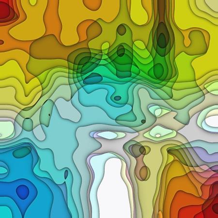 kunst geabstraheerde kleurrijke chaotisch patroon achtergrond