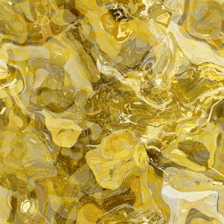 art abstracted chaotic pattern background in golden color