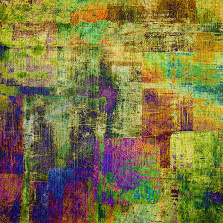 grungy background: art abstract  grunge squares background