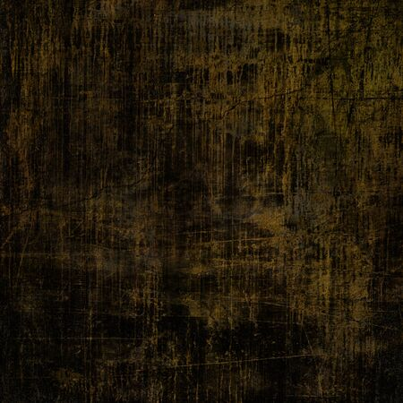 art abstract dark brown grunge textured background Stock Photo - 17396874