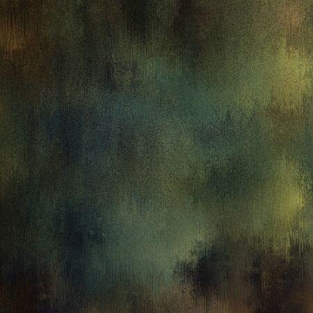 art abstract dark green amd sepia grunge textured background Stock Photo - 17397492