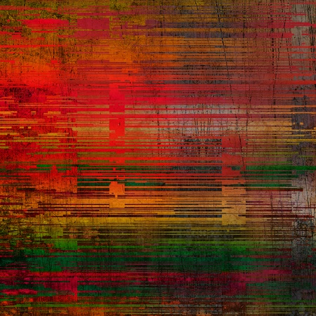 art abstract striped red and green background photo