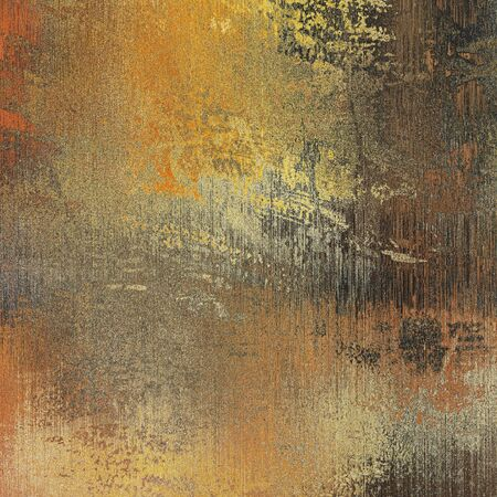 art paper texture for background in golden and brown colors photo