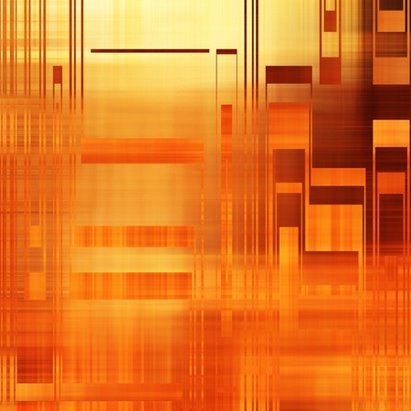 art abstract bright red and gold background Stock Photo - 18924814