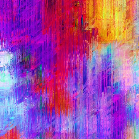 art abstract rainbow pattern background with pink blots photo