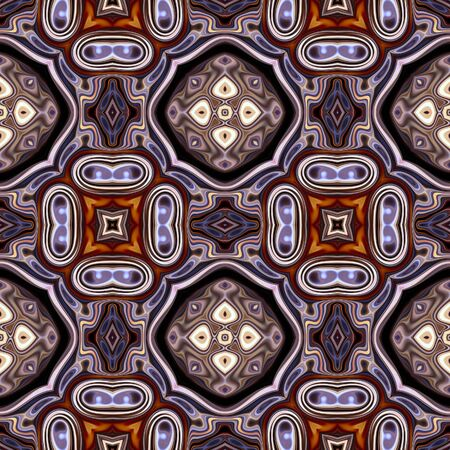 art nouveau geometric ornamental vintage pattern in violet Stock Photo - 18924997