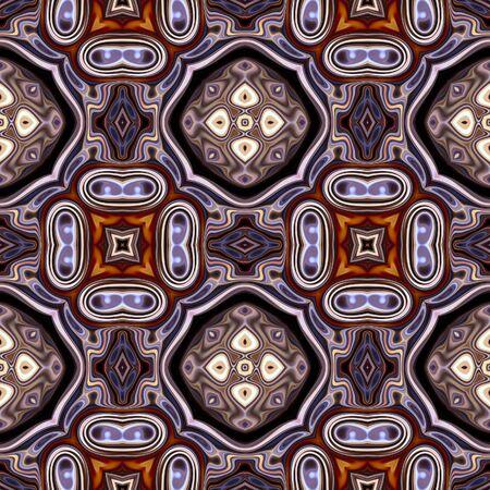 art nouveau geometric ornamental vintage pattern in violet Stock Photo - 18924997