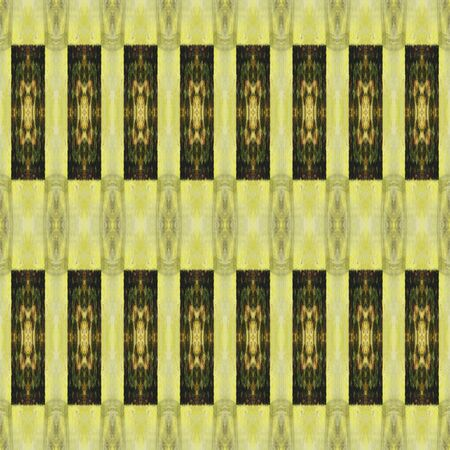 art colorful ornamental vintage seamless pattern in green photo