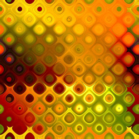 art abstract geometric textured bright golden and red background, seamless pattern   photo