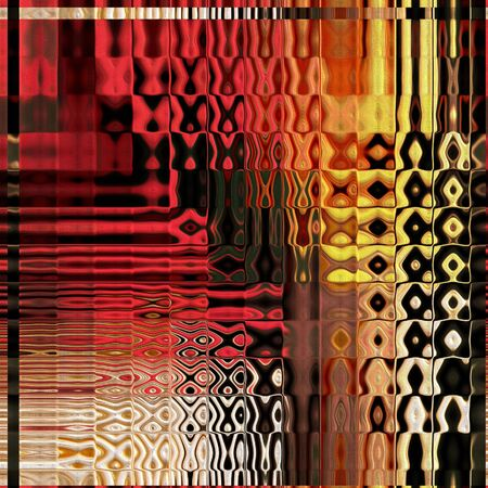 gree: art abstract geometric textured bright background in gree, brown, gold and red colors