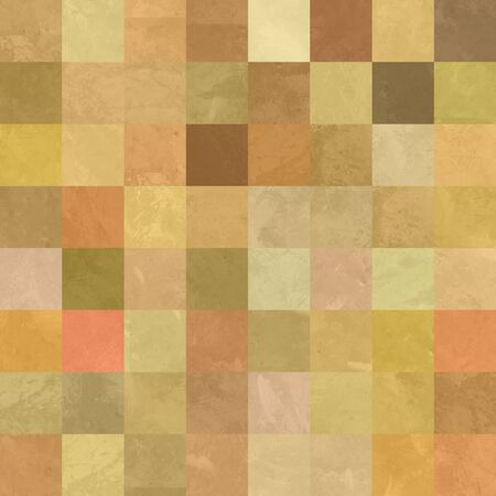art abstract vibrant geometric pattern background in golden,red and brown colors photo