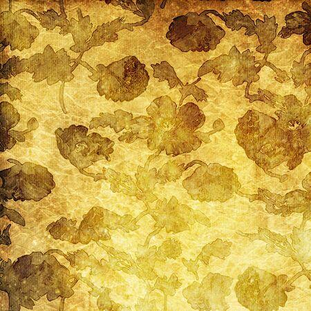florish: art vintage pattern, grunge florish background Stock Photo