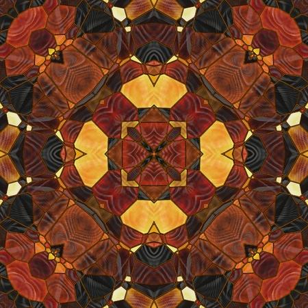 art nouveau ornamental vintage blurred pattern in brown color