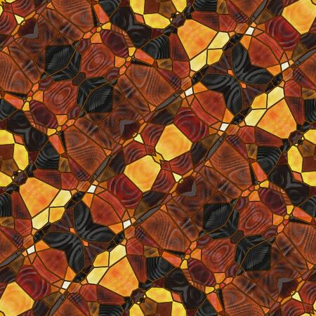 art nouveau ornamental vintage blurred pattern in brown color photo