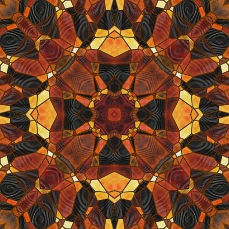 background motif: art nouveau ornamental vintage blurred pattern in brown color