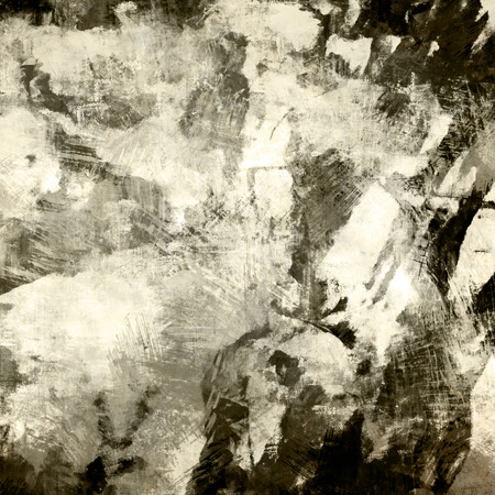art abstract graphic background in beige, black and white colors photo