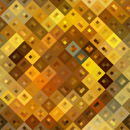 art abstract golden diagonal tiles background, seamless pattern photo