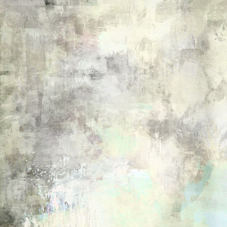 abstract paintings: art abstract acrylic background in light grey and white colors Stock Photo