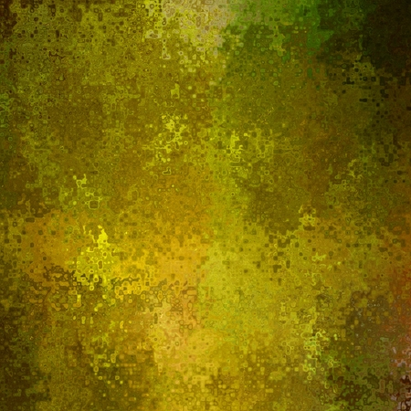 art abstract bright golden, beige and green points background photo