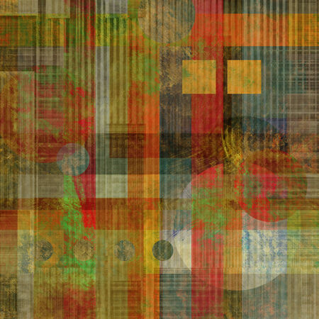 art abstract geometric textured colorful background with square in rainbow colors photo
