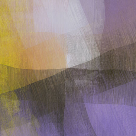 art abstract geometric textured colorful background with square in violet and beige colors photo