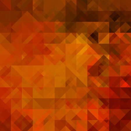 art abstract colorful geometric seamless pattern; background in gold, red, brown and black colors photo