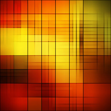 art abstract colorful geometric  pattern; background in gold, red, brown and black colors photo
