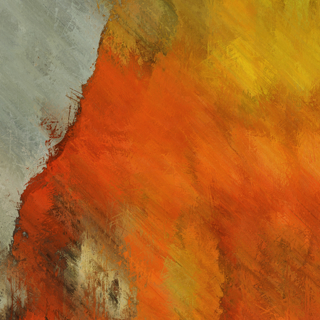art abstract watercolor red, brown, grey and gold background photo