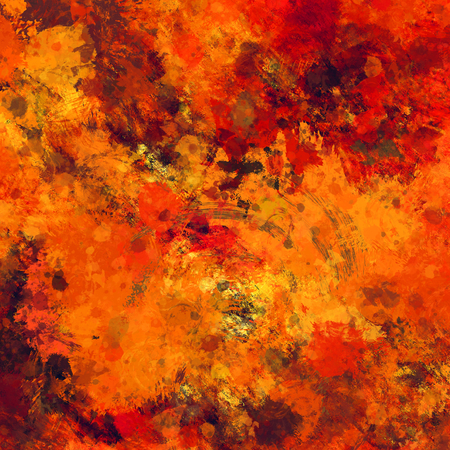 art abstract colorful watercolor background in bright  gold, orange, red and brown colors photo