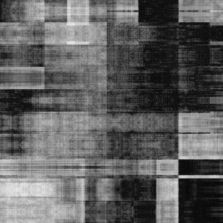 art abstract monochrome geometric pattern; tiled background in black and white colors photo