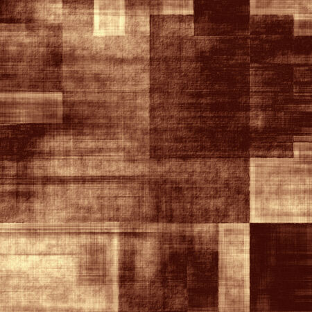 art abstract colorful geometric pattern; tiled background in brown, white and beige colors photo