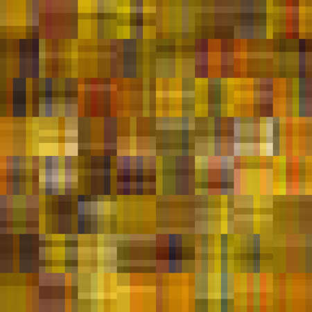 art abstract colorful geometric pattern; tiled background in beige, brown, olive and green colors photo