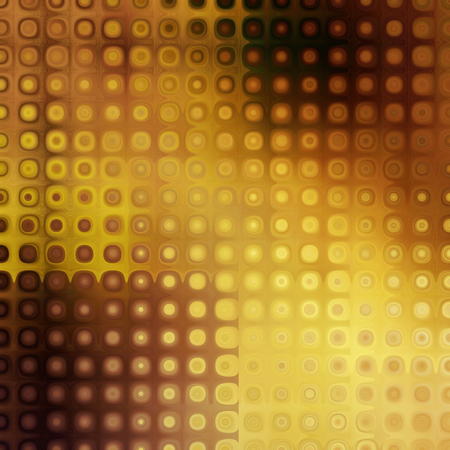 art abstract pixel geometric pattern background in gold and brown colors photo